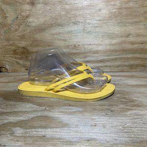 Coach Flip Flop Slip On Thong Strappy Sandals